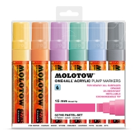 MOLOTOW� ONE4ALL 627HS Pastel-Set