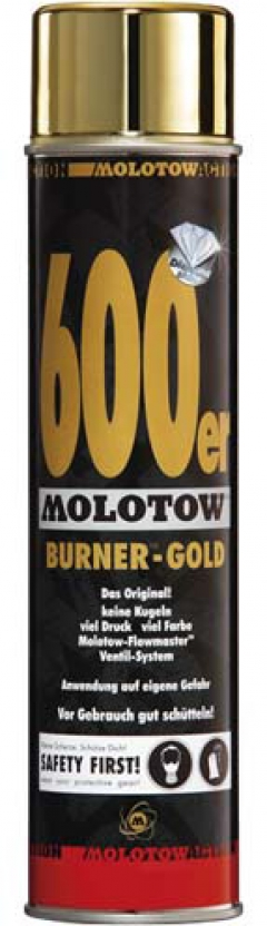 Molotow™ Burner™ Gold 600ml